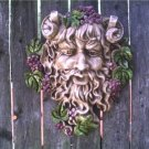 NEW GOTHIC BACCHUS GOD OF WINE GREENMAN LEAFMAN GARGOYLE WICCA PAGAN