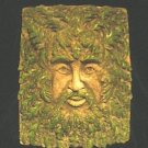 GREENMAN LEAFMAN PLAQUE WALL HANGING GOTHIC CELTIC RENAISSANCE FANTASY