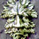 GREENMAN GARGOYLE PLAQUE GOTHIC WALL HANGING RENAISSANCE PAGAN CELTIC WICCA