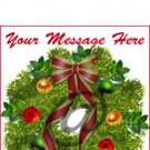 eCrater Logo Set - Matching top & home page logo design – Christmas Wreath Set