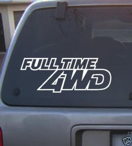 4x4 Decal