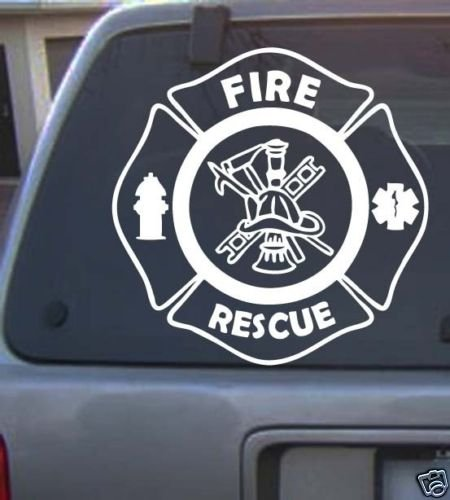 Fire & Rescue Decal