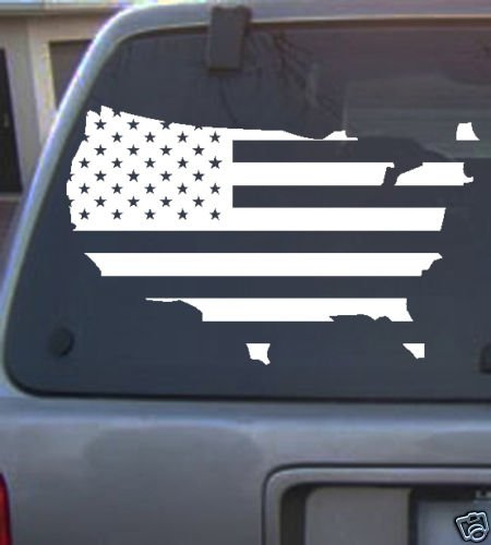 America2  Vinyl decal_ 4 Colors to pick