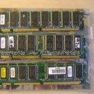 Lot of 6 SDRAM 128 MB PC100 Desktop Memory