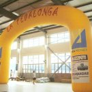 Arch shaped inflatable for events of all kinds