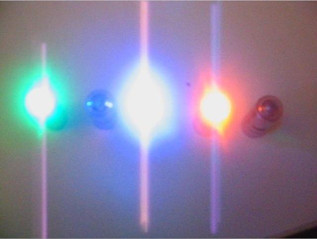 Balloon lights, mini strobe, 2 function long lasting mini lights
