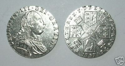 CC-03 1787 George III Shilling COPY