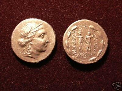 B 071 (DD-07125) Greek Tetradrachm of Syros COPY
