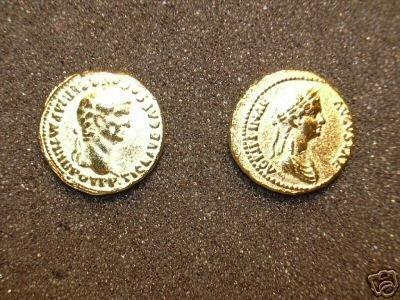 (GA-08) Aureus of Claudius  COPY