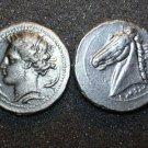 B 130 (DD-13025) Carthage Tetradrachm of Dido COPY