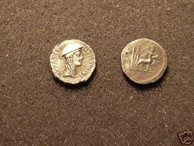 (RR-19) Denarius of Cn.Plancius COPY