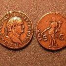 (DD R-23) PAX Sestertius Vespasian COPY