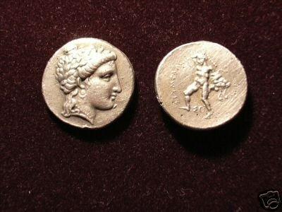B 066 (DD-06625) Greek Stater of Stymphalos COPY
