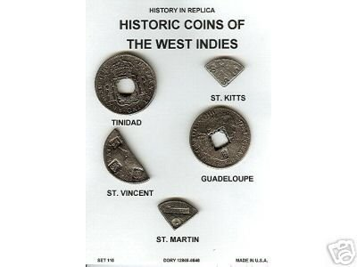 (DD-S 115) Other Coins of W. Indies  COPY