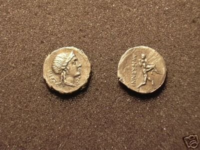(RR-31) Denarius of R.Herennius COPY