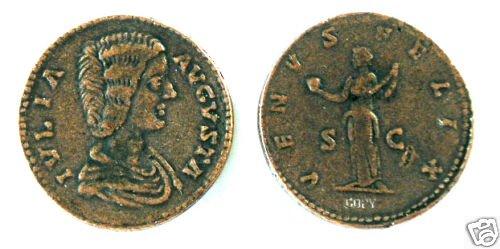 (DD S-77) Sestertius of Julia Domna COPY
