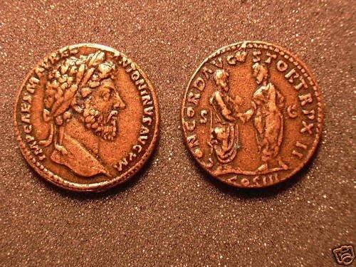 (DD R-25) Marcus Aurelius Sestertius COPY