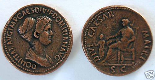 (DD S-48) Domitia Sestertius COPY