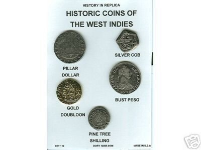 (DD-S 112) Coins of W. Indies COPY