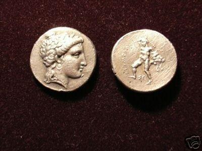 B 072 (DD-07225) Greek Coin of Mithradates III COPY