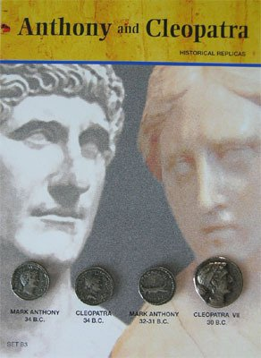 (DM B 003) Anthony and Cleopatra - Historical Replicas