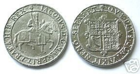 REPLICA COINS-523 1710 Crown of James I COPY