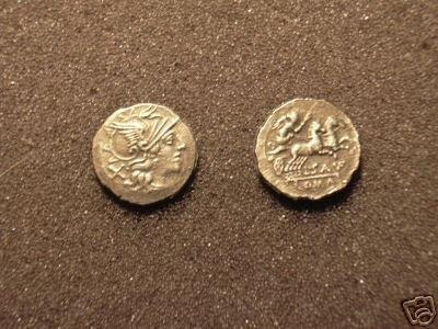 (RR-32) Denarius of Sex. Atillius  COPY
