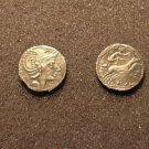 (RR-26) Denarius of L.Flaminius Cilo COPY