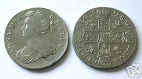 REPLICA COINS-524 1705 Queen Ann Crown COPY