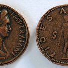 (DD S-51) Sestertius of Plotina COPY