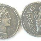 (RR-45) Denarius of Achilius Glabrio COPY