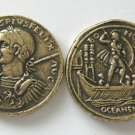 (DD Z-18)  Brass Sestertius of Gordian III COPY