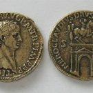 (DD Z-26)  Brass Sestertius of Claudius .COPY