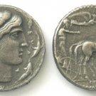 (DD-G 025) Tetradrachm of Syracuse Artemis COPY