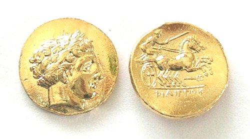 B 094 Gold Stater of Klazomenai Copy