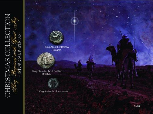 (DM 003) Coins of the Three Wisemen *