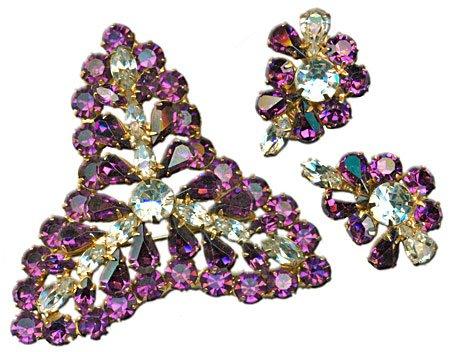 Amethyst Crystal Set