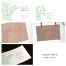 Spring is here Wedding Invitation - PDF Files