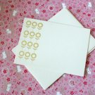 3 Sunflowers Patterns - Screen Printed Flat Note Cards Set