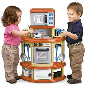 TODDLER PRETEND PLAY KITCHEN SET TOY CENTER DAYCARE / PRESCHOOL AGE 2+