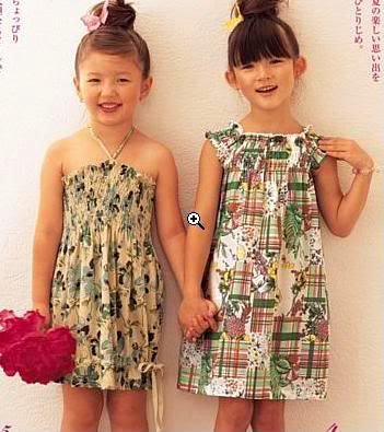 GITA CHOCOLAT girls Floral Sun Dress Two styles 6-7 7-8