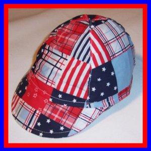 Baby Baseball CAP Sun HAT -4TH OF JULY [3/6 mos]