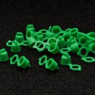 PLASTIC ZERK CAPS  GREEN (500 pcs)