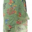 Unique butterflies print wrap beach skirt free worldwide shipping