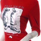 2010 RUNWAY FASHION CLOTHING 80S STYLE CLOTHES TREND PHOTO PRINT BIBLE QUOTE TURTLENECK SWEATER