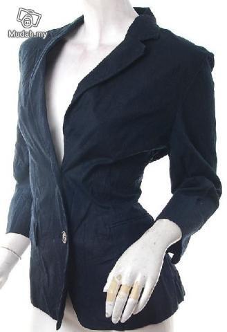 2010 RUNWAY FASHION CLOTHING 80S STYLE CLOTHES TOMBOY TREND ROCKSTAR SKINNY BF BLAZER