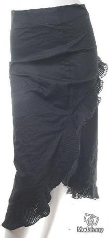 RUNWAY FASHION PERIOD CLOTHING MOVIE STYLE CLOTHES FLAMENCO SLEEK SKIRT