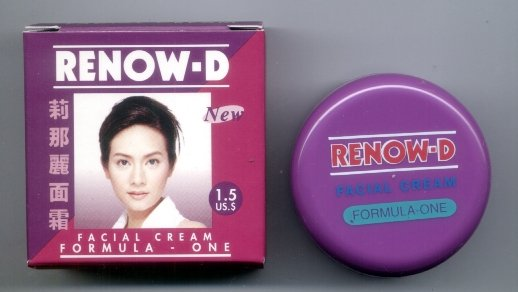 3 pcs. RENOW-D Facial Cream Formula One CLEAR SKIN, FREE SHIPPING WORLDWIDE