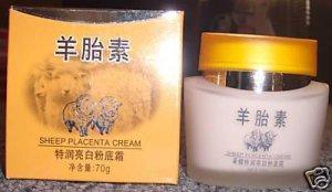2 boxes Yellow Sheep Placenta Cream - Severe Cuts