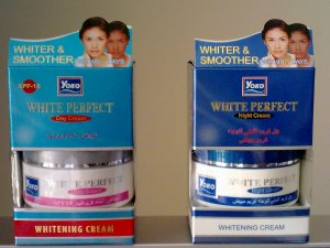 1 set Yoko White Perfect Day and Night Cream, 50 grams each